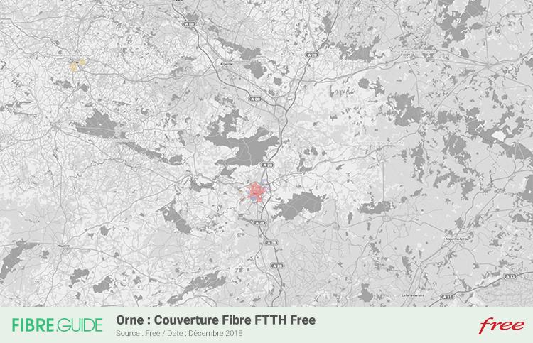 Carte Fibre Free Orne