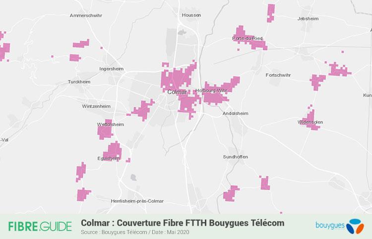 Fibre à Colmar : éligibilité et déploiements FTTH - FIBRE.guide