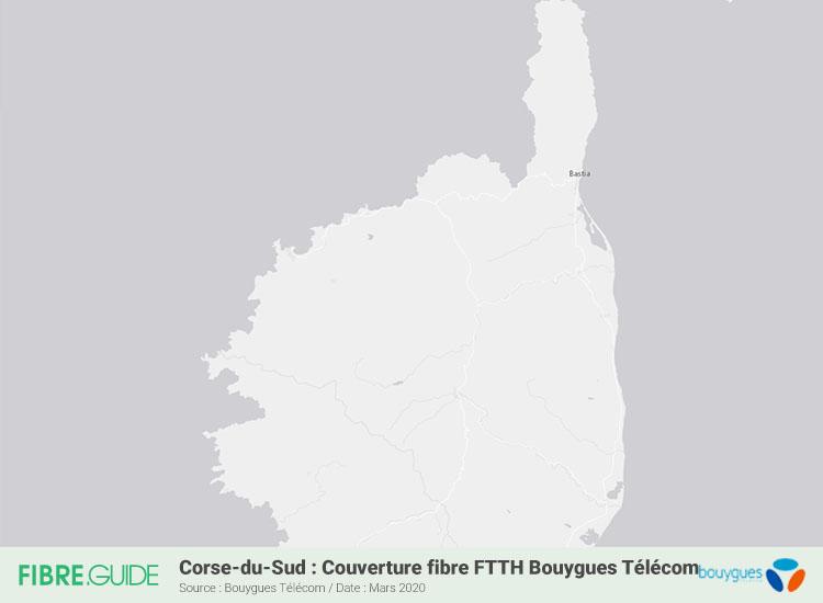 Carte Fibre Bouygues Télécom En Haute-Corse