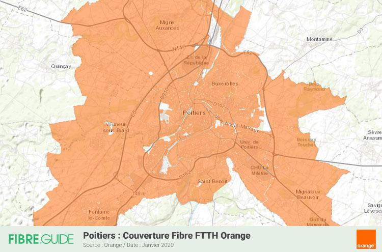 Fibre A Poitiers Eligibilite Et Deploiements Ftth Fibre Guide
