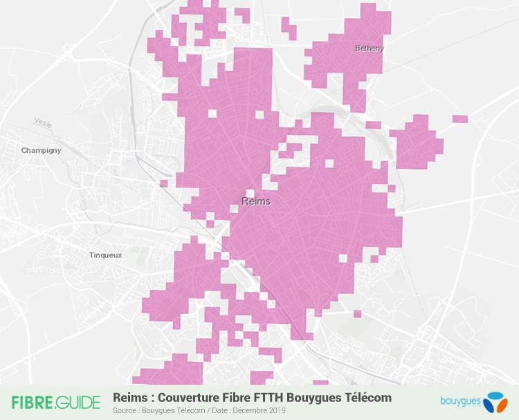 Fibre à Reims : éligibilité et déploiements FTTH - FIBRE.guide