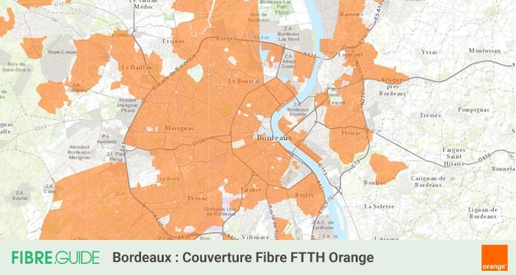 Carte Fibre Bordeaux.Fibre A Bordeaux Eligibilite Et Deploiements Du Ftth