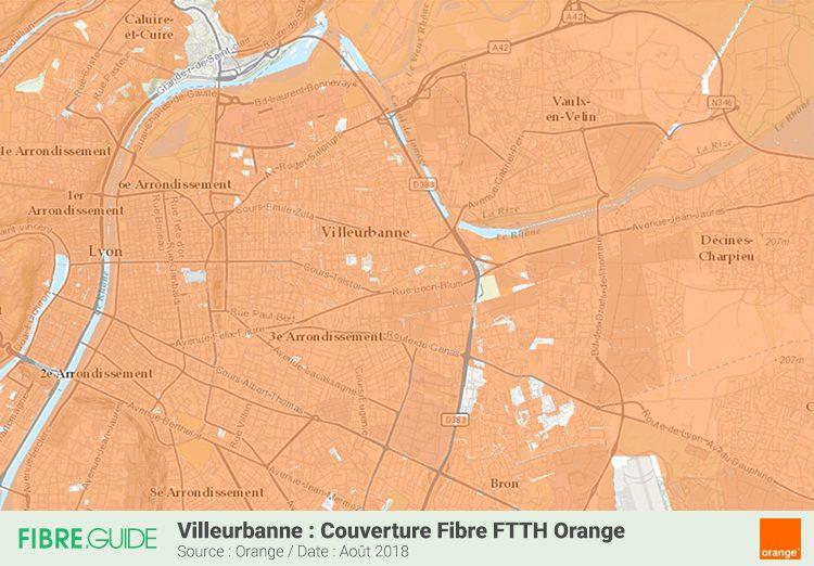 Fibre à Villeurbanne : Eligibilité et déploiements du FTTH ...