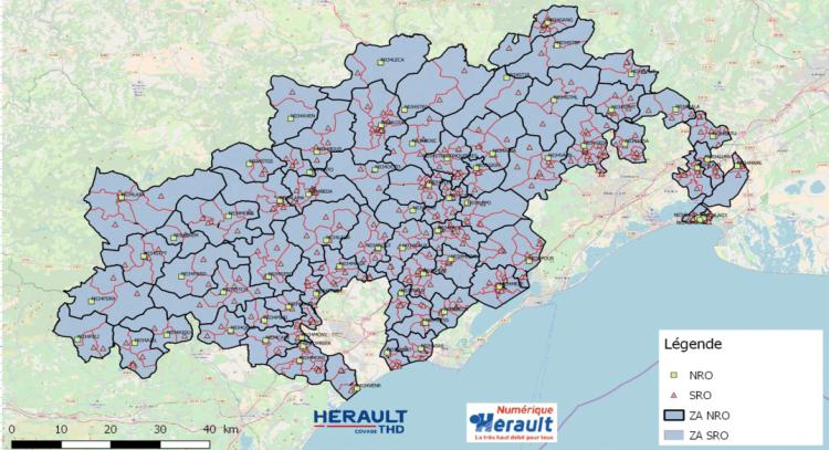 Carte RIP Hérault Numérique