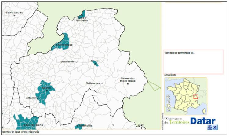 Zones AMII Haute-Savoie