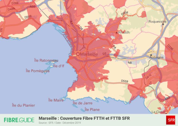 Fibre à Marseille : Eligibilité et déploiements du FTTH ...