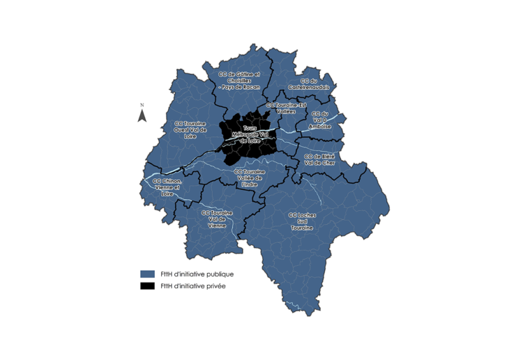 Carte du RIP dans l'Indre-et-Loire (37)