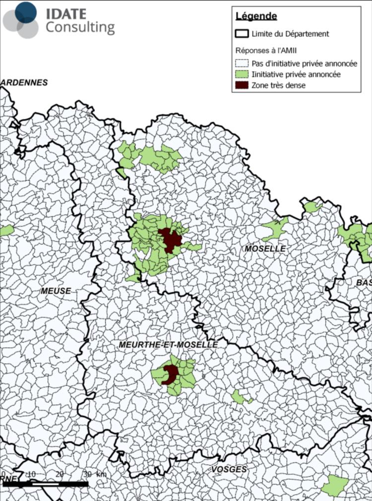 Carte ZTD AMII RIP Meurthe et Moselle
