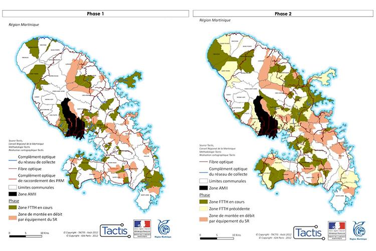 Martinique - déploiement phases 1 et 2