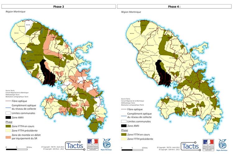 Martinique - déploiement phases 3 et 4